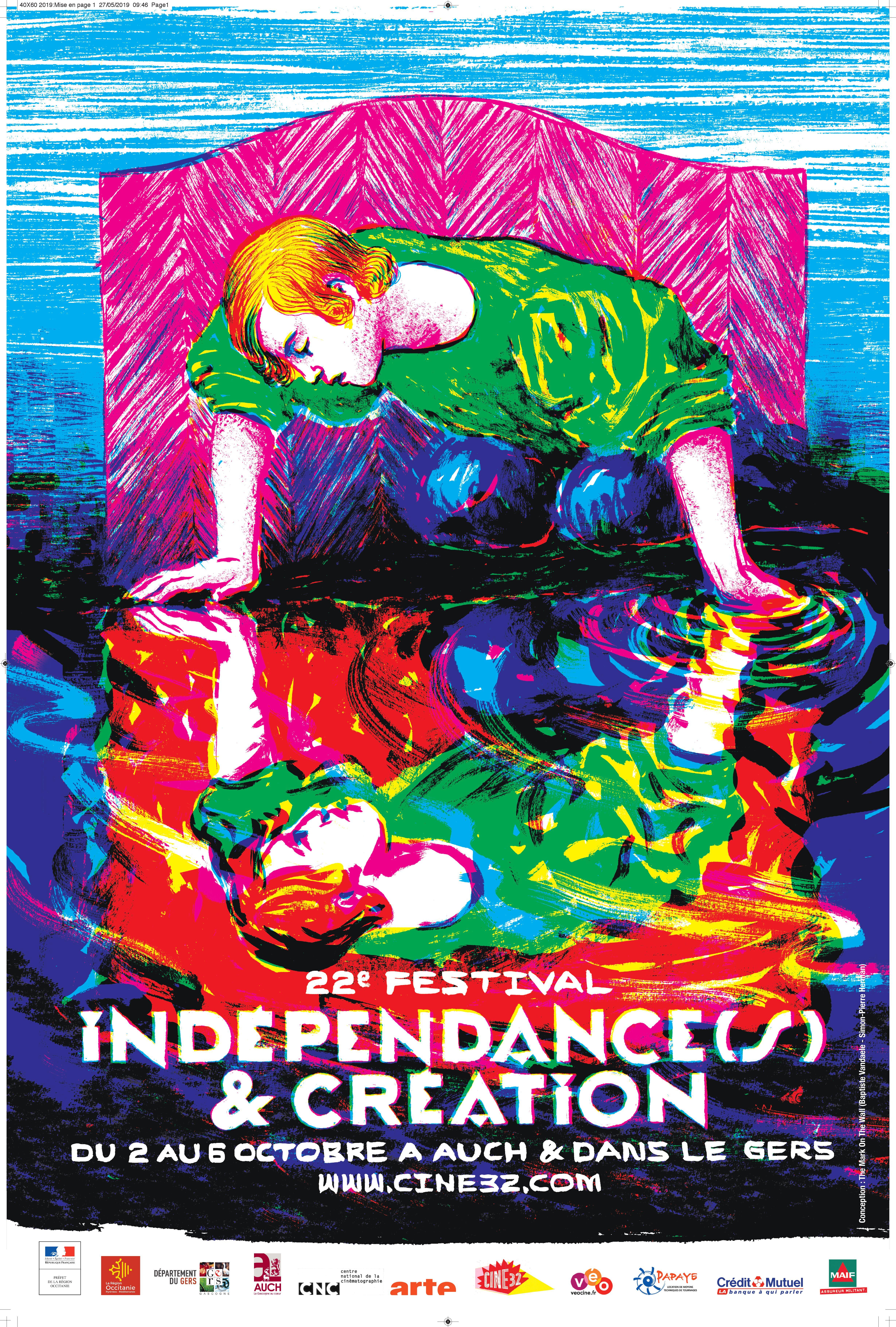 Affiche Indépendances & Création 2019