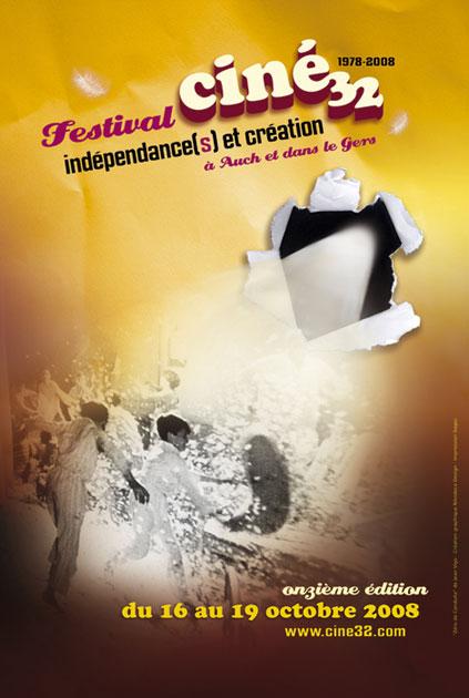 Affiche Indépendances & Création 2008