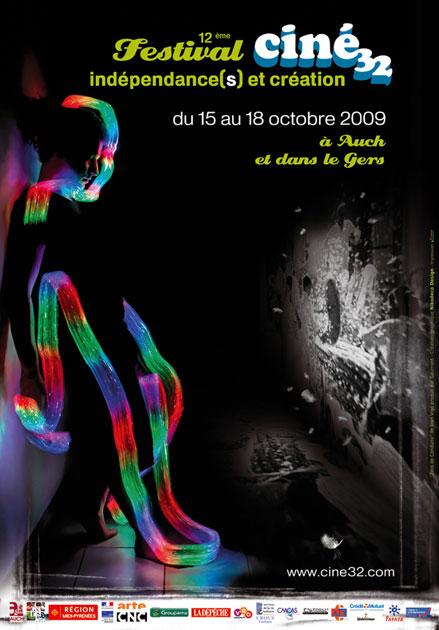Affiche Indépendances & Création 2009