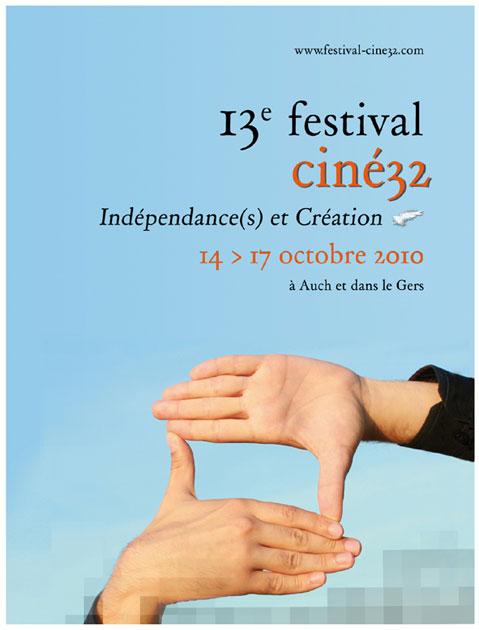 Affiche Indépendances & Création 2010