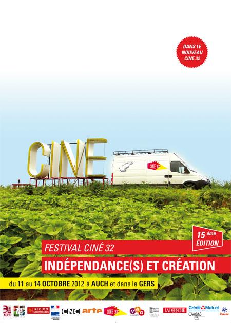Affiche Indépendances & Création 2012