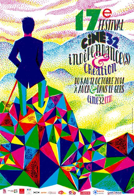 Affiche Indépendances & Création 2014
