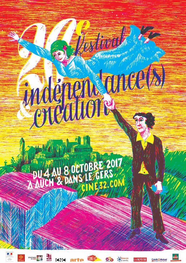 Affiche Indépendances & Création 2017