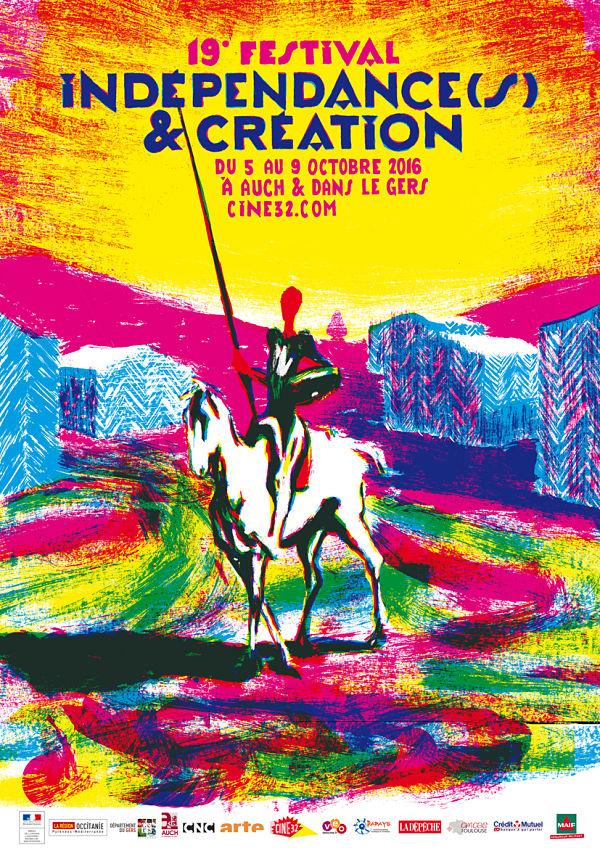 Affiche Indépendances & Création 2016
